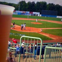 Photo taken at Eastwood Field by Eric B. on 9/6/2015