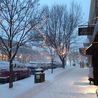 Photo taken at Downtown Ellicottville by Biz T. on 1/25/2014