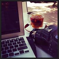 Photo taken at Glow Espresso by Leon H. on 4/17/2013