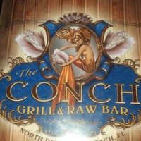 Photo taken at The Conch Grill & Raw Bar by Lady R. on 12/29/2012