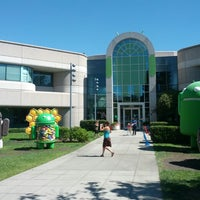 Photo taken at Googleplex by Steve W. on 8/25/2013