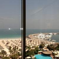 Photo taken at Jumeirah Beach Hotel by 👼👼👼 on 6/27/2013