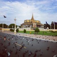 Photo taken at Royal Palace, Phnom Penh by Jana Z. on 6/24/2013