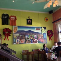Photo taken at La Macarena Pupuseria & Latin Café by Tom M. on 12/30/2012
