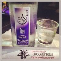 Photo taken at Shogun Sushi by Sam D. on 6/21/2013