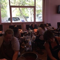 Photo taken at Embellish Nails & Boutique by Kim S. on 7/10/2014