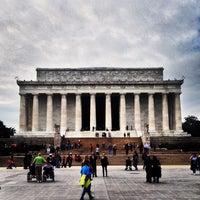 Photo taken at Lincoln Memorial by John B. on 11/4/2013