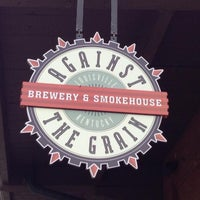Photo taken at Against The Grain Brewery & Smokehouse by Jeff E. on 7/5/2013