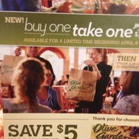 Photo taken at Olive Garden by Wesley P. on 4/7/2013
