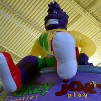 Photo taken at Monkey Joe's by Jim F. on 9/10/2011