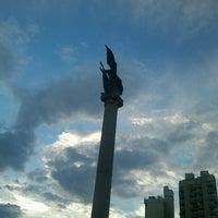Photo taken at Plaza Italia by Edu E. on 2/16/2013