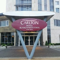 Photo taken at Carlton Hotel Blanchardstown by Carlton J. on 9/1/2012