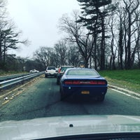 Photo taken at Northern State Parkway by Paul D. on 4/7/2016