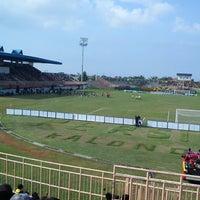 Photo taken at Stadion Kota Batik by Arief D. on 1/30/2013