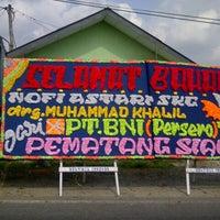Photo taken at Pematang Siantar by ell on 3/16/2013