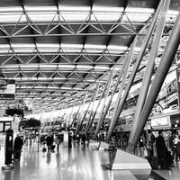 Photo taken at Düsseldorf Airport (DUS) by Paul T. on 3/26/2013