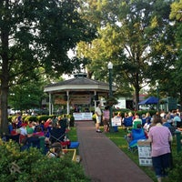 Photo taken at Collierville Town Square / Confederate Park by Dallas on 6/14/2013