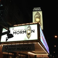 Photo taken at Eugene O'Neill Theatre by Chris P. on 11/30/2012