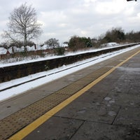 Photo taken at Solihull Railway Station (SOL) by Ida P. on 3/25/2013