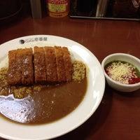 Photo taken at CoCo壱番屋 渋谷区宇田川町店 by Diana L. on 6/24/2013
