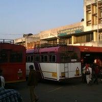 Photo taken at Satara Bus Stand by Ameya K. on 11/19/2012