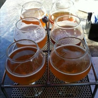 Photo taken at Vermont Pub & Brewery by Ian L. on 7/13/2013