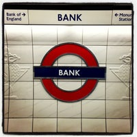 Photo taken at Bank London Underground and DLR Station by Demsi on 9/15/2013