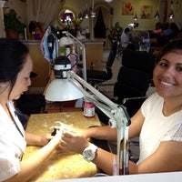 Photo taken at Db Nail Studio by Melissa A. on 7/27/2013
