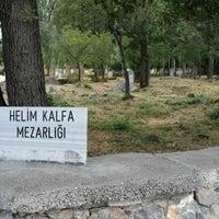 Photo taken at Helim Kalfa Mezarlığı by Ö' ® 🌐 on 7/29/2014