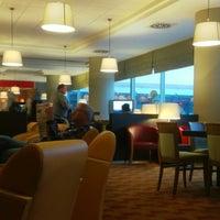 Photo taken at Brussels Airlines Business Lounge by Walter V. on 3/25/2013