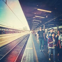 Photo taken at Central Station (Platforms 4 & 5) by Elliot S. on 12/19/2012