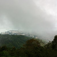 Photo taken at Penang Hill by Francis L. on 11/24/2012