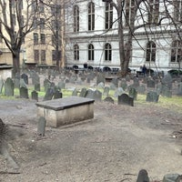 Photo taken at King's Chapel Burying Ground by William W. on 1/9/2013