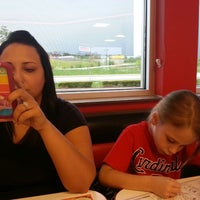 Photo taken at Steak 'n Shake by Eric B. on 5/9/2013