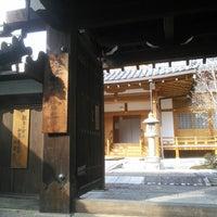 Photo taken at 涅槃堂 by koryu m. on 2/2/2014