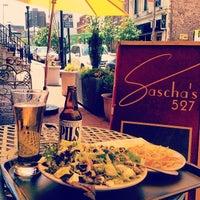 Photo taken at Sascha's 527 Cafe by Alex U. on 5/20/2014