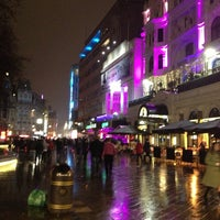 Photo taken at Leicester Square by Dimitry N. on 2/10/2013