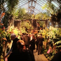 Photo taken at Enid A. Haupt Conservatory by Lansing M. on 3/13/2013