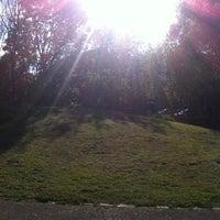 Photo taken at Elthorne Park by 😈Sibel😇 T. on 4/19/2014