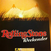 Photo taken at Rolling Stone Weekender by Daniel D. on 11/17/2012