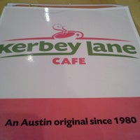 Photo taken at Kerbey Lane Cafe by Shana H. on 11/23/2012