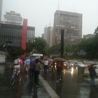 Photo taken at Edifício Paulista 1100 by Wesley B. on 12/13/2012