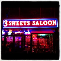 Photo taken at 3 Sheets Saloon by Javier G. on 11/18/2012