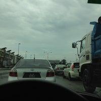 Photo taken at Traffic Light Jalan Salleh by Law J. on 11/19/2012