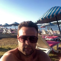Photo taken at Urla Beach Clup by Altan on 7/17/2016