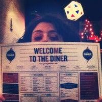 Photo taken at The Diner by lunamargherita c. on 4/11/2013
