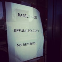 Photo taken at Bagels & Co. by Moshe L. on 11/26/2012