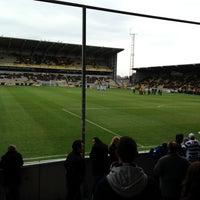 Photo taken at Herman Vanderpoortenstadion   Het Lisp by Tom F. on 4/13/2013