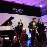 Photo taken at Somethin' Jazz Club by Joseph P. on 11/29/2012