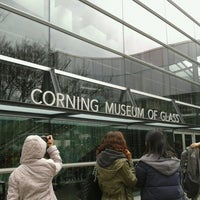 Photo taken at Corning Museum of Glass by Cheok W. on 3/12/2013